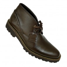 Brown Lace Up Real Leather Ankle/Chukka Boots
